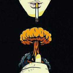 سلامتی سیگار ک لباش قبل لب های ا صاحبش به لب هیچکس دیگه نخورده!