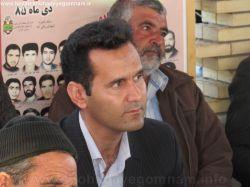 گرامیداشت شهدای عملیات کربلای پنج شهید حاج یونس و جمعی از همرزمانشان مهندس دوست محمدی شهردار زنگی آباد