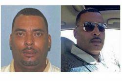 این مرده یه ادم تحت تعقیبه...عکس سمت چپ رو گذاشتن تا پیداش کنن ...طرف  عکس سمت راستیو برا پلیس فرستاده گفته اینو بذارید تو اون عکسه زشت افتادم:-D