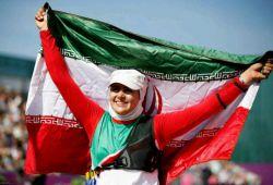 زهرا نعمتی پرچمدار المپیک