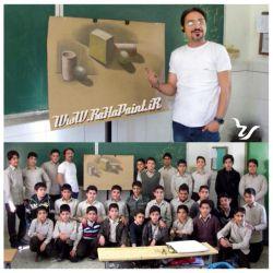 The Culture Of The #Art_Class ............ #Design_Training Lesson ......... The Topic Of #Light #Shadow & #Texture The #Teacher .................... #Hamid_Estabraghi #RaHa #Seventh_Base Class #Educational Complex Of #Javad 4.January.2016  #کلاس #فرهنگ_وهنر .......... #آموزش_طراحی موضوع ............. مبحث #نور#سایه و #بافت دبیر آموزشی .......... #حمید_استبرقی  #رها #مدرسه_راهنمایی #حضرت_جواد #پایه هفتم چهارم.بهمن ماه. ۱۳۹۴
