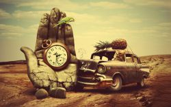 زمان  طولانے مے شود براے ڪسانے ڪہ غصہ دارند  ڪوتاہ مے شود براے ڪسانے ڪہ شاد هستند  دیر مےگذرد براے ڪسانے ڪہ منتظر هستند  زود مے گذرد براے ڪسانے ڪہ عجلہ دارند  اما ابدے مے شود براے ڪسانے ڪہ عاشق هستند
