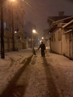 پدری ما زیر برف دیشب / بندر انزلی