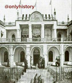 اولین هتل مدرن در قزوین که در سال ۱۳۲۲ساخته شد