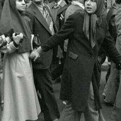 #حضور زنان در راهپیمایی های انقلاب