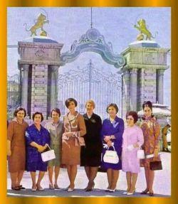 تعدادی از زنان نماینده مجلس در دوره پرافتخار پهلوی ....بهارستان