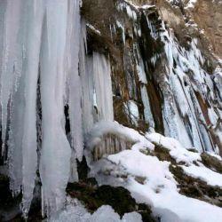 آبشار مارگون در زمستان!!!