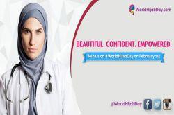 پوستر رسمی روز جهانی حجاب- 2016