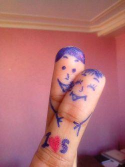انگشتای عشقم