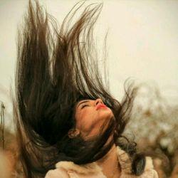 مگه موهاتو واکردی که موجش اومده اینجا...