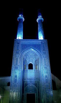 مسجد جامع یزد. عکس از خودم