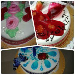 اینم کیک های تولدم از طرف خانواده عزیـــــــــــــــــزم ❤  تقدیم به همه دوستان خوبم ❤