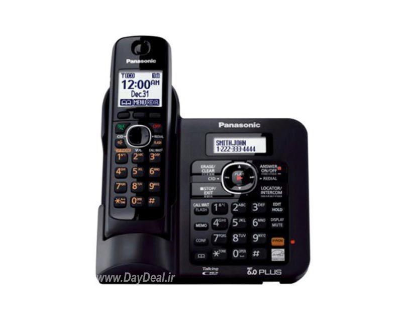 تلفن بی سیم پاناسونیک KX-TG3821-1  برای خرید فروشگاه اینترنتی دی دیل مراجعه نمایید.