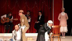 نمایی از تئاتر باغ آلبالو