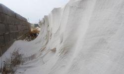 برف در درق