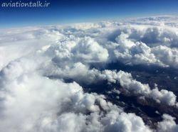حال و هوای دیروز آسمان ایلام 19 بهمن 1394