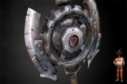 آموزش ساخت بافت برای اسلحه و رنگ آمیزی آن در فتوشاپ (Texturing Low Polygon Weapons in Photoshop) http://bit.ly/1PSLpkG