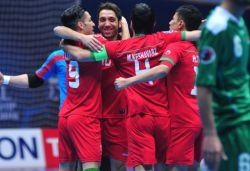تیم ملی فوتسال ایران تیم عراق را 13-2 گلباران کرد و با اقتدار به مرحله یکچهارم نهایی جام ملتها صعود کرد.