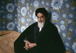 تصویری زیبا از امام (ره)