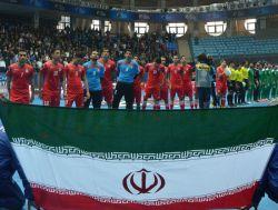 صعود تیم ملی فوتسال ایران به مرحله نیمه نهایی جام ملتهای آسیا و جام جهانی با گلباران قرقیزستان