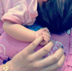 بهترین حس دنیا. عزیزم اون نبض کف دستت