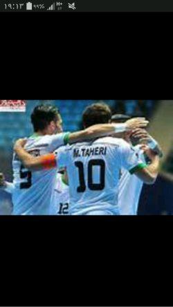 قهرمانی فوتسال ایران تبریک