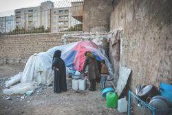 خانواده ای بی خانمان در شیراز