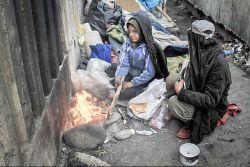 زنان بی خانمان به روایت تصویر....