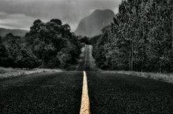 جاده طولانی است  واین شب رنگ است  بارقه امید