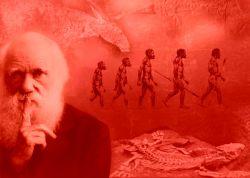 داروین،دروغگوی بزرگ!که با این فرضیه و کتاب مسخره و سراسر دروغ خود،رسما خلقت آدم و حوا را منکر شد و نسبت اشرف مخلوقات یعنی انسان را به میمون!نسبت داد و اذهان و افکار افراد زیادی را منحرف کرد.