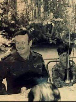 بشار اسد کنار باباش حافظ اسد ۸_۸