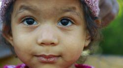 عکاسی خودم:دختر بچه مینابی