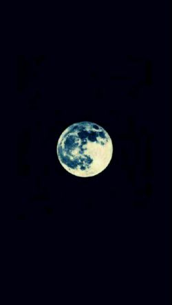 the #moon is #always_ALONE