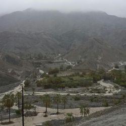 یک روز بارونی در روستای اسپند