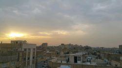 غروب غم انگیز اصفهان