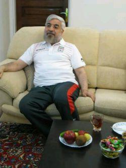 ریس جمهور ما آقا روحانی