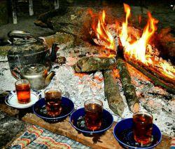 دوستان گلم بفرمائید چای داغ