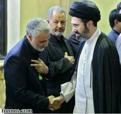 فرزند آیت الله سید علی خامنه ای رهبر معظم انقلاب اسلامی #lenzor #iran #islam #imamali