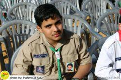 یکی از جوانان #پیشاهنگی #الرساله #حرکت_امل در #لبنان
