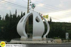 #بنای_یادبود #شهید عماد مغنیه در روستای زادگاهش