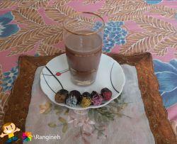 شیر کاکائو با خرما ✔
