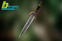 آموزش ساخت یک ابزار جنگی در نرم افزار مایا و زیبراش  www.bengiso.com
