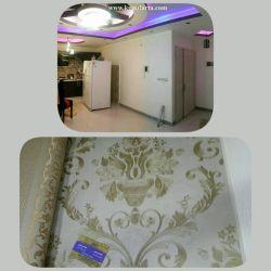 بنظرتون این مدل کاغذ دیواری برای دیوار پشت ال سی دی مناسبه؟طرحش شلوغ نیست؟رنگش چطوره؟