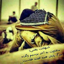 شهادت یعنی....  متفاوت به آخر برسیم  وگرنه مرگ  پایان همه قصه هاست...