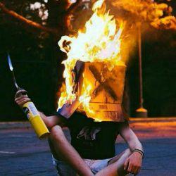 مارا نتوان پخت,که ما #سوخته ایم / آتش نتوان زد که برأفروخته ایم
