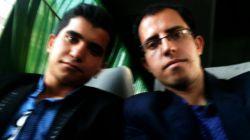 خودم و پسر داییم آقا رضا