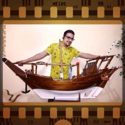 #Photography .............. #Replica #Wooden_Dhow #Handmade #Master #Effects MR #Rezvan #iran . #Bushehr . #Genaveh_Port Wensday . 4 March . 2016    #عکاسی .......... #ماکت #لنج_چوبی #اثر #دست_ساز استاد #حاج_رضوان #استان_بوشهر #شهرستان_گناوه چهارم . فروردین ماه . ۱۳۹۵
