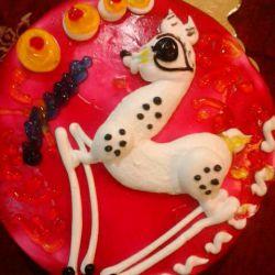 کیک تولدم:-)
