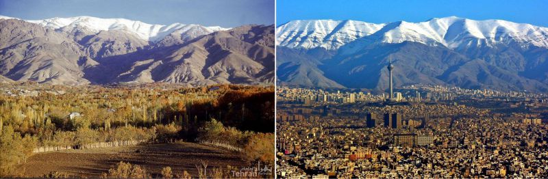 طهران سال ۱۳۲۹ - تهران سال ۱۳۹۴