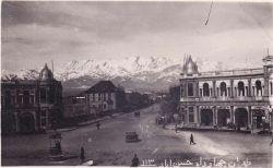 چهارراه حسن آباد - قبل از ساخت فلکه